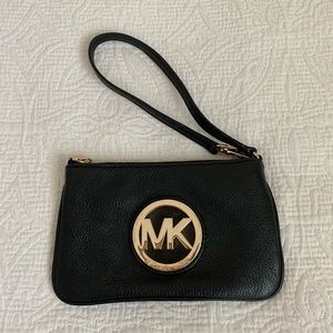 MICHAEL Michael Kors Leather Wristlet